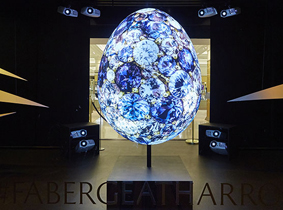 Optoma Fabergé Harrods