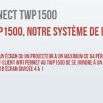 Système de présentation sans fil QConnect Plus TWP1500 QOMO