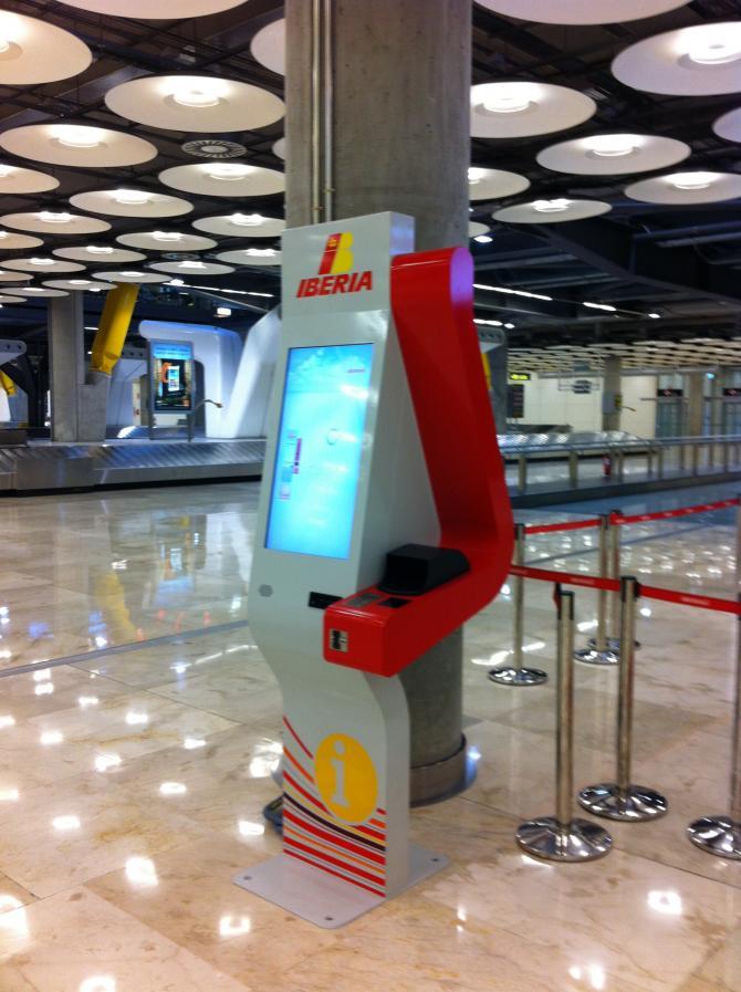 Soltec Iberia Kiosk