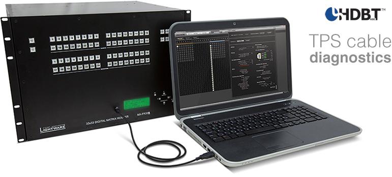 Diagnostique TPS Lightware