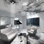 Une chambre d'hôtel spatiale…