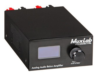 Amplificateur audio Balun 500219 Muxlab
