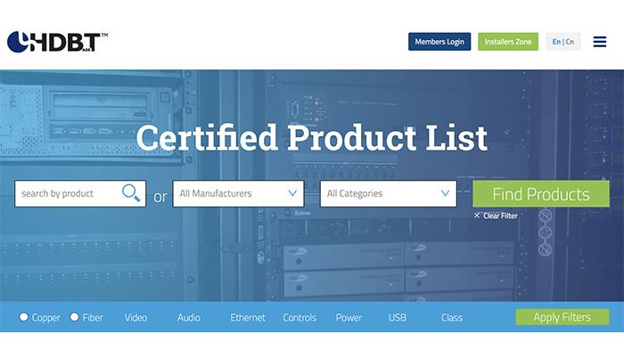 HDBaseT base produits