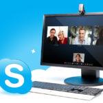 Des réunions avec Skype ?