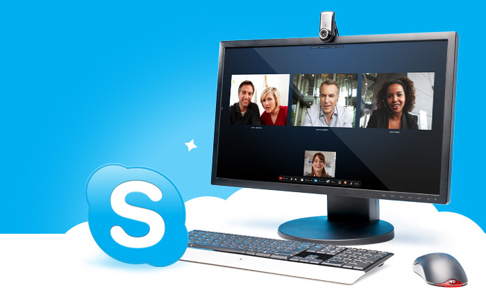 how to put video on skype