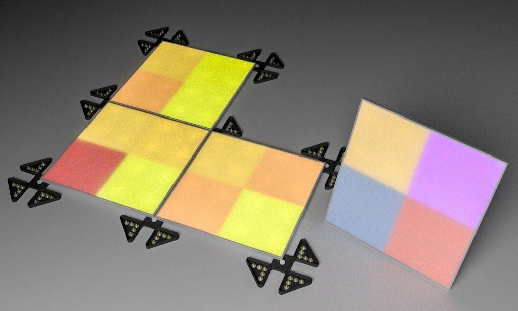 Un Papier Peint Digital Qui Change Avec Un Simple Toucher Blog