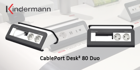 CablePort Desk² 80 Duo