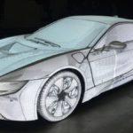 Quatre BMW et neuf projecteur Christie, pour un mapping impressionnant !