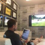 Après avoir remporté des tournois de Golf sur 5 des 7 continents, Lee Westwood, quitte le Green pour retrouver le confort d'Elan !