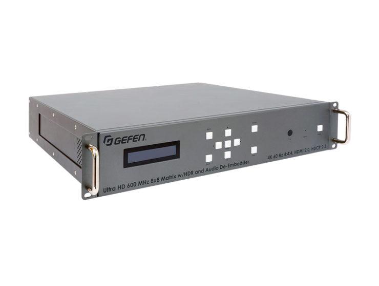 Gefen présente une matrice HDMI 4K 18Gbps sans concession