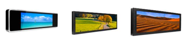 écrans ultra wide soltec zinia OPF ARM M line