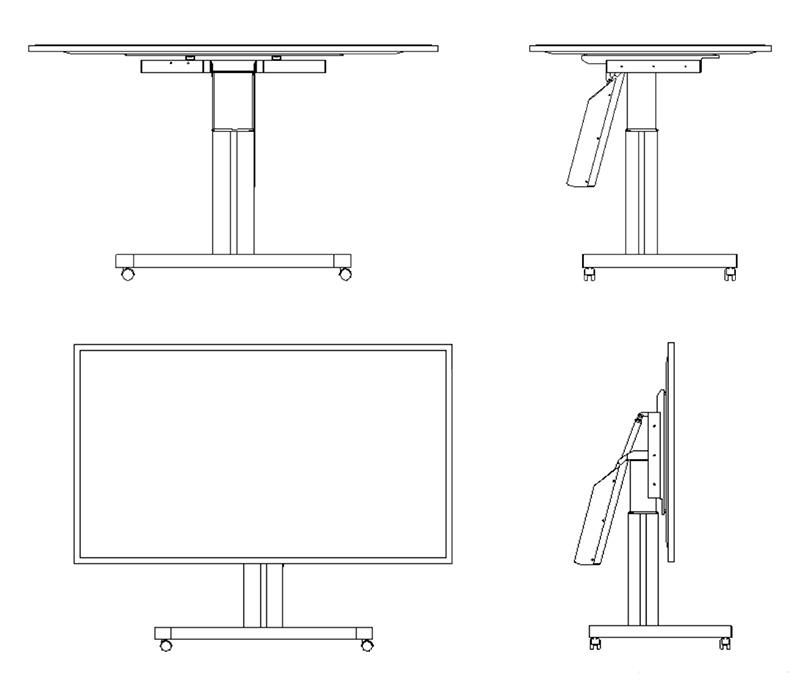 Audipack FSW-T160B trolley schema