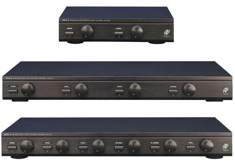 Niles SSVC : des sélecteurs audio pour multiplier facilement les enceintes