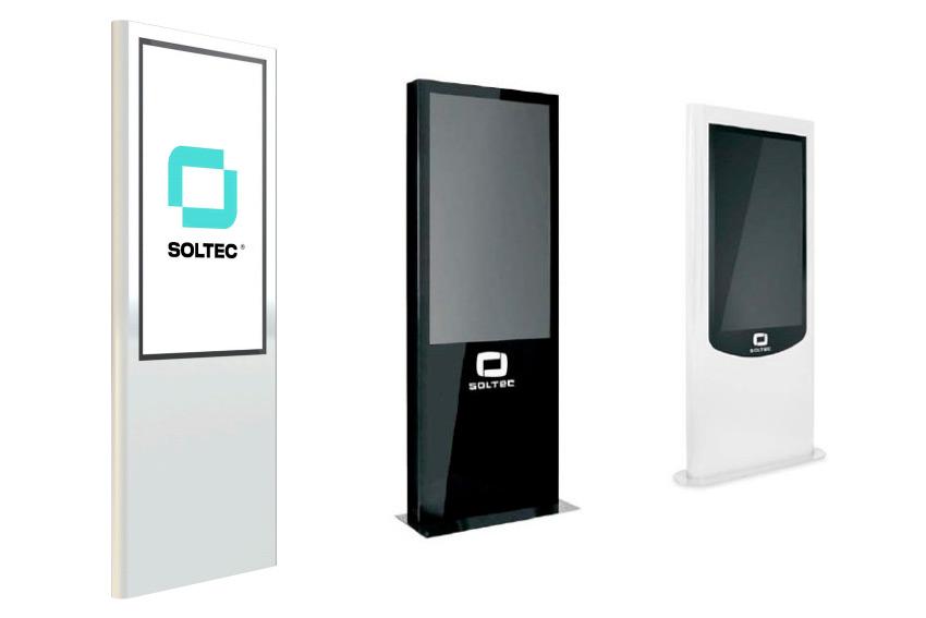 Soltec MUP : des totems dynamiques entièrement personnalisables