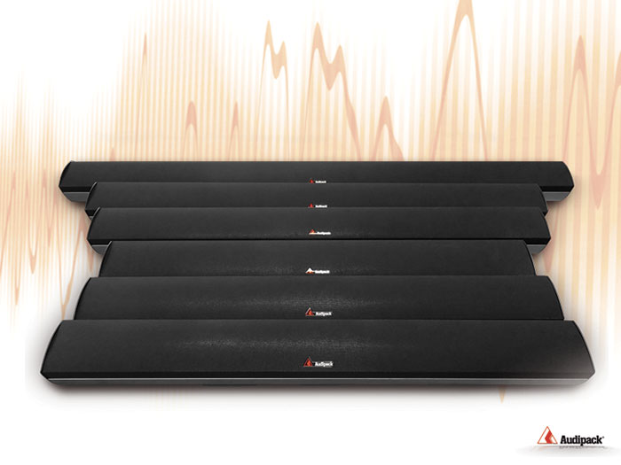 audipack soundbar family