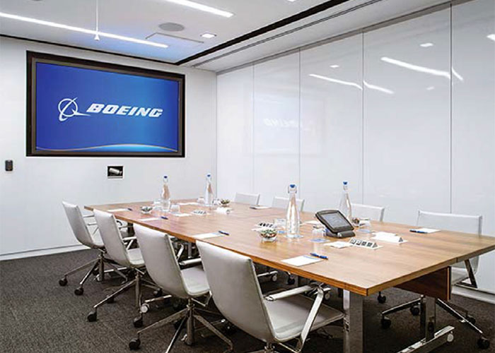 boeing collaboration center lightware 4