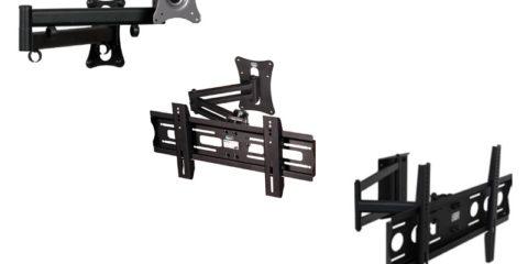 Edbak : des bras supports orientables pour toutes les tailles d'écrans