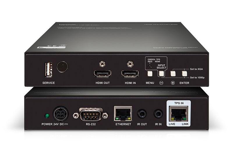 Un récepteur HDBaseT avec scaler intégré chez Lightware