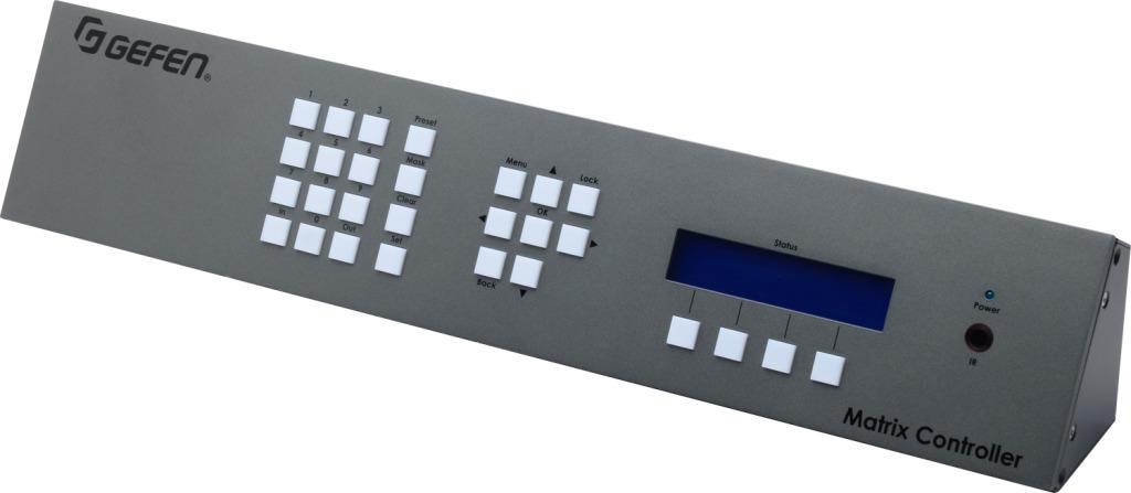 Gefen — EXT-CU-LAN Matrix Controller v2.3.45