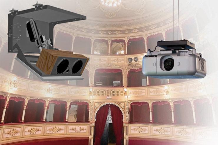 3 motorisations alternatives pour vidéoprojecteurs et enceintes chez Audipack