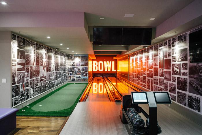 Elan Denny Hamlin Home bowling