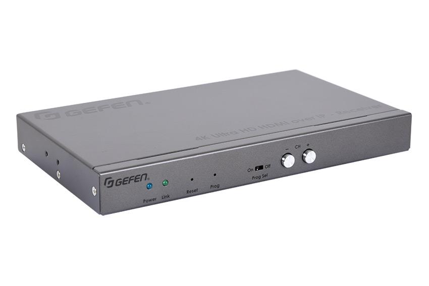 La gamme d'extendeurs AV sur IP Gefen passe à la génération 2