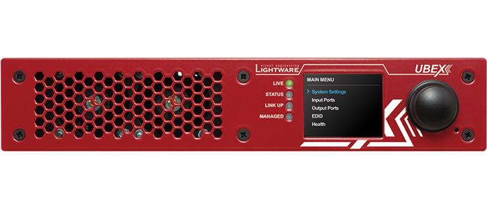 Lightware UBEX front