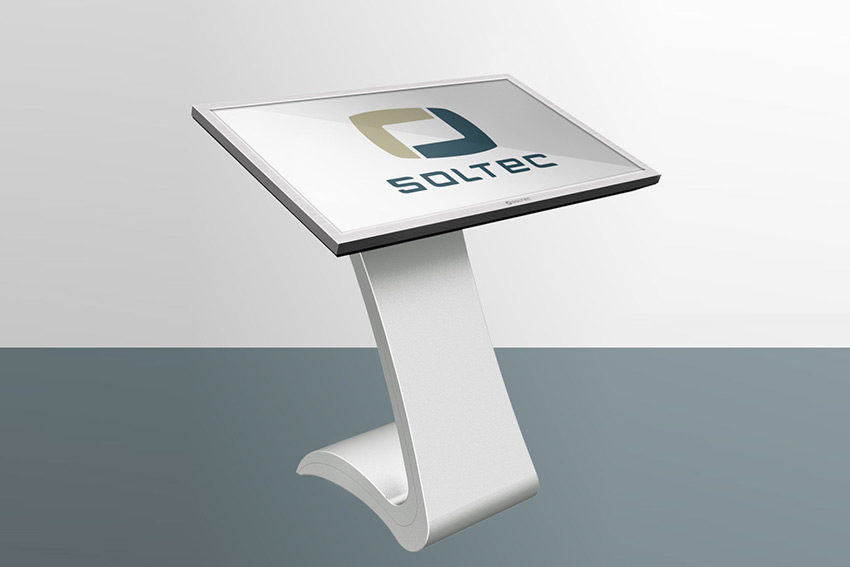 Pour informer et orienter les visiteurs, pensez aux moniteurs interactifs Soltec KLF