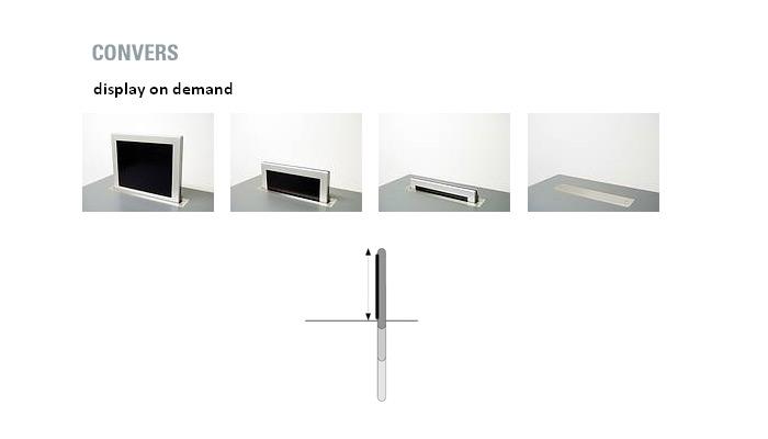 convers display on demand