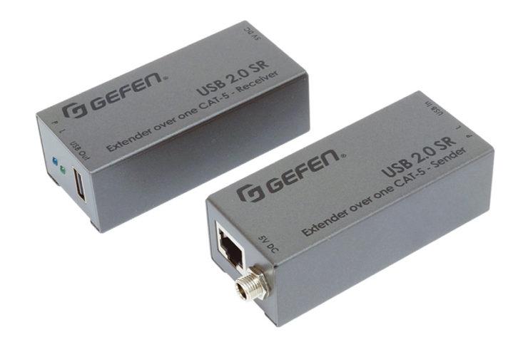 Comment rallonger simplement un câble USB 2.0 jusqu'à 50 mètres - Gefen USB-2.0-SR