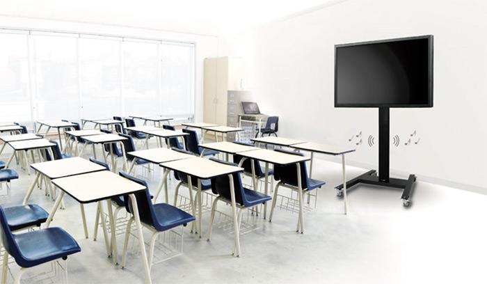audipack atlas trolley classroom