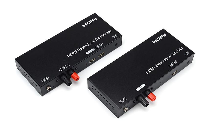 Un extendeur HDMI sur un simple câble haut-parleur
