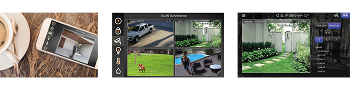 elan surveillance interface