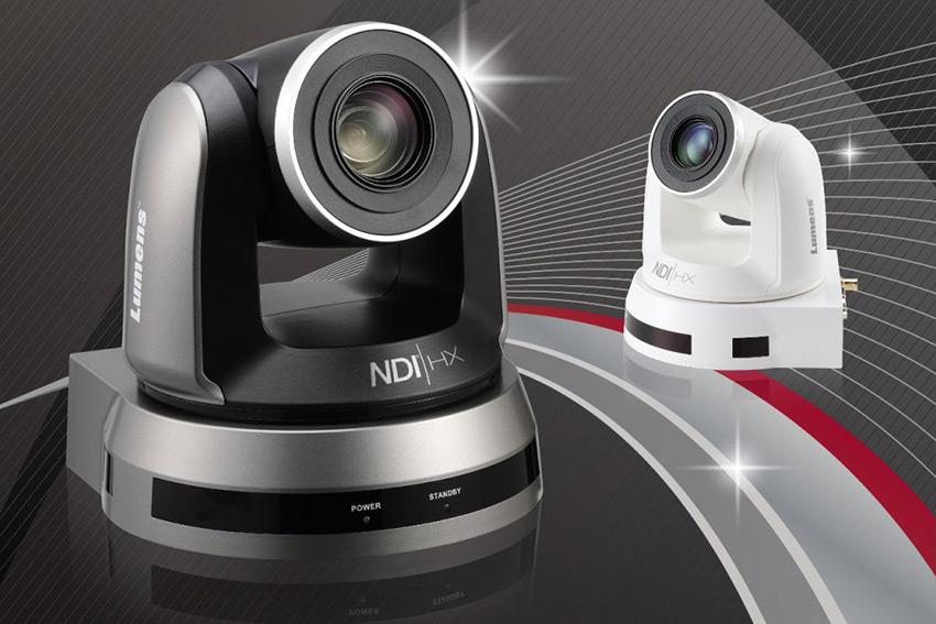Lumens est compatible NDI HX, le protocole AV sur IP dédié aux caméras