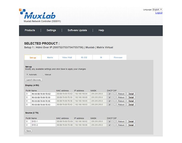 muxlab prodigital software 1