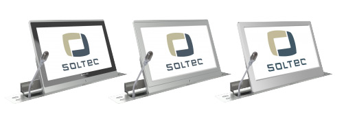 soltec rétractable écran et micro
