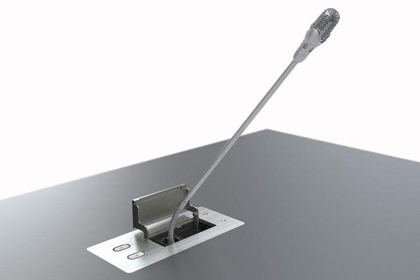 Le microphone de table rétractable : une solution moderne et intégrée