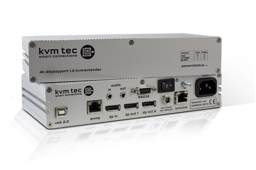 Découvrez kvm-tec, le spécialiste des extendeurs et switchs informatiques sur réseau IP