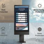 Les écrans extérieurs sous caisson LG, une solution d'affichage pour toutes les situations