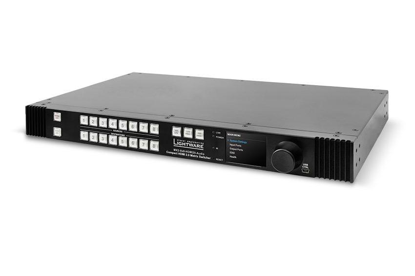 Une nouvelle matrice HDMI 4K HDR sans compression chez Lightware