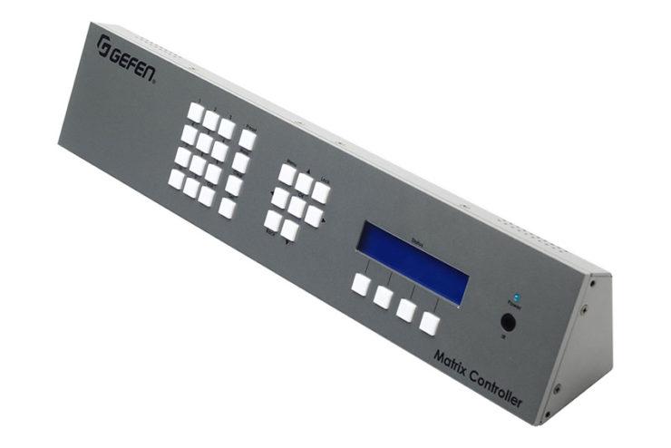 Gefen Matrix Controller : un véritable pupitre de contrôle pour votre distribution HDMI