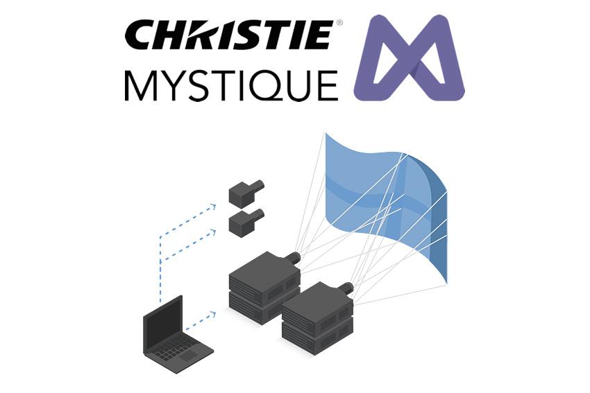 Christie Mystique Install : l'outil parfait pour le projection mapping