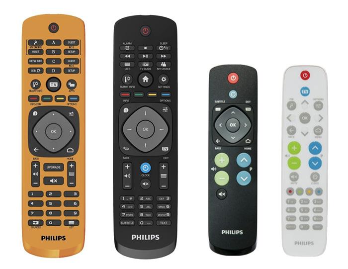 philips HFL3011W telecommandes