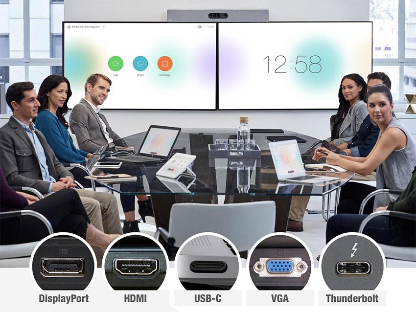 Avec Lightware, ajoutez de multiples entrées vidéo aux systèmes de visio et de téléprésence Cisco Webex
