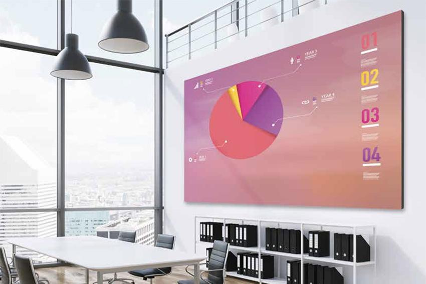 Le mur LED entièrement sur mesure, par Optoma