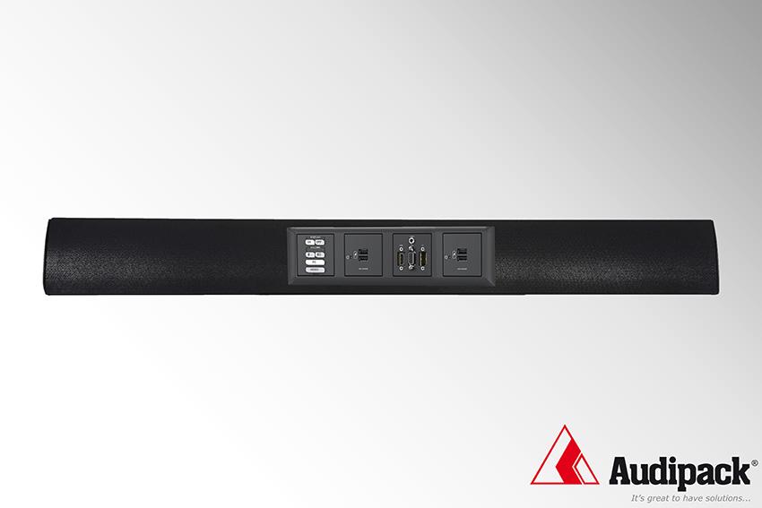 De nouvelles barres de son Audipack sur mesure avec emplacement pour plaque 55x55