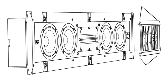 sunfire CRW-3C grille