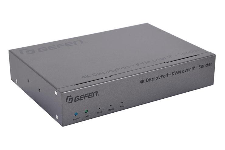 Un extendeur DisplayPort 4K ultra complet et en PoE chez Gefen
