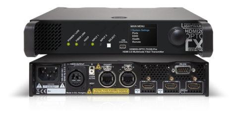Un nouvel extender HDMI optique chez Lightware en 4K @ 18 Gbps