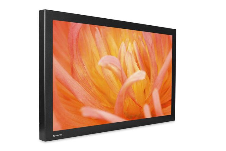 Des écrans à châssis métallique chez Soltec pour une durabilité optimale